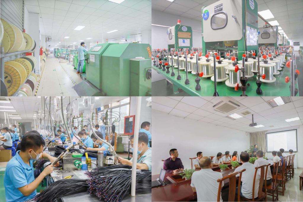 Conectmed factory and production line