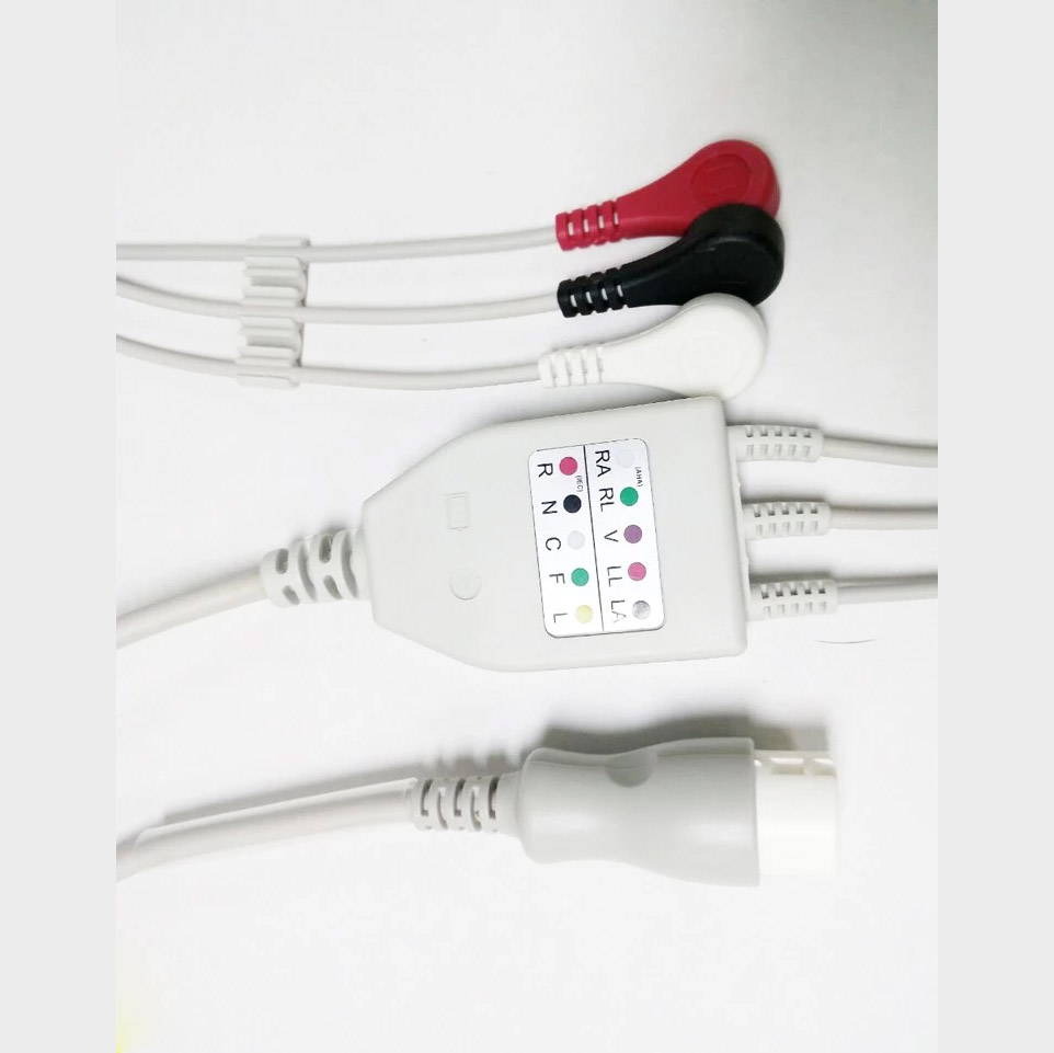 3 lead ecg cable application