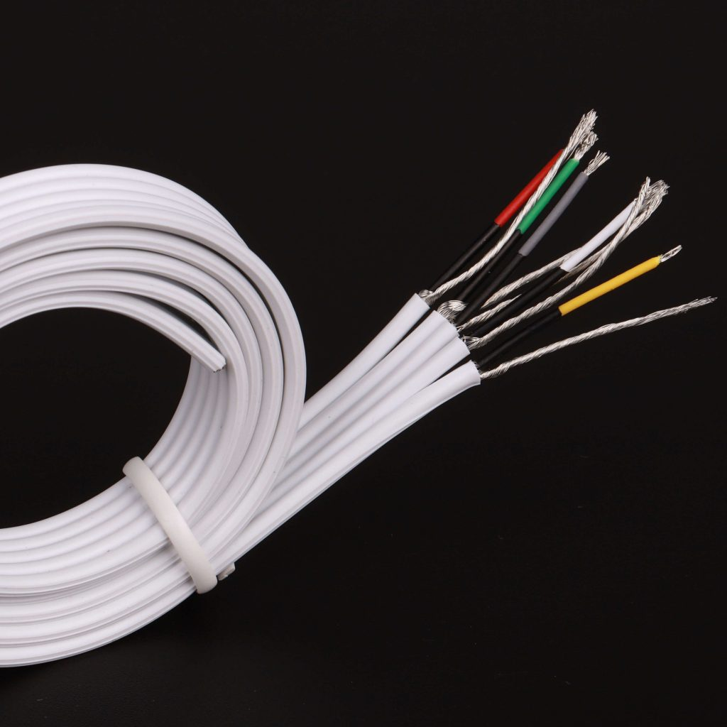 5 lead ECG cable-Flat Ribbon Cable