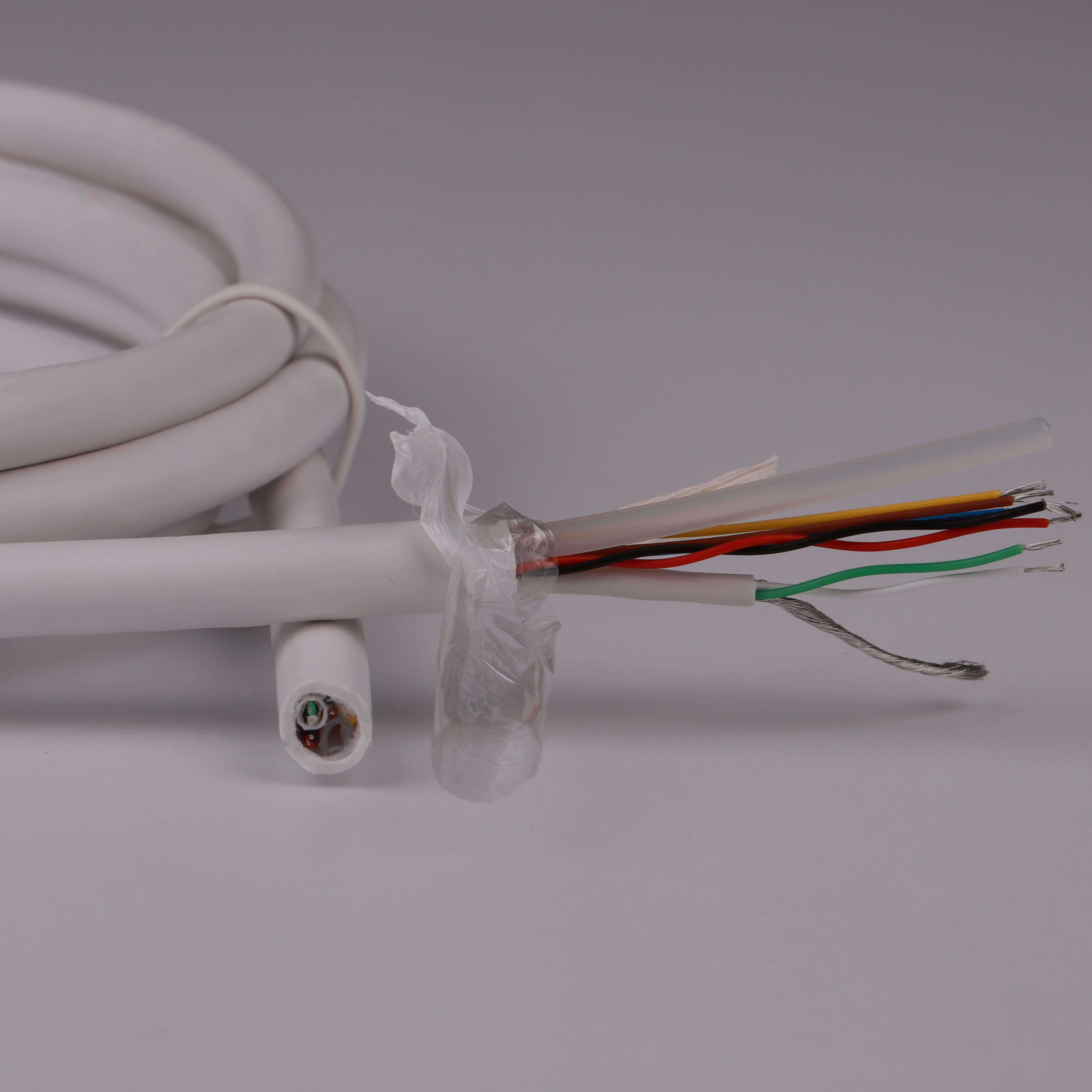 Special purpose customized medical cable 7 core cable with air pipe---OE207X