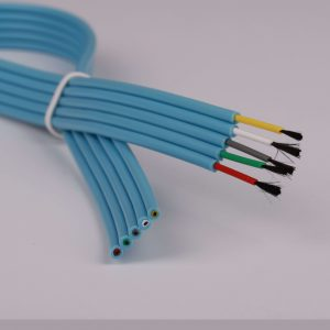 Special purpose customized medical cable with carbon fiber conductor OE105X-002