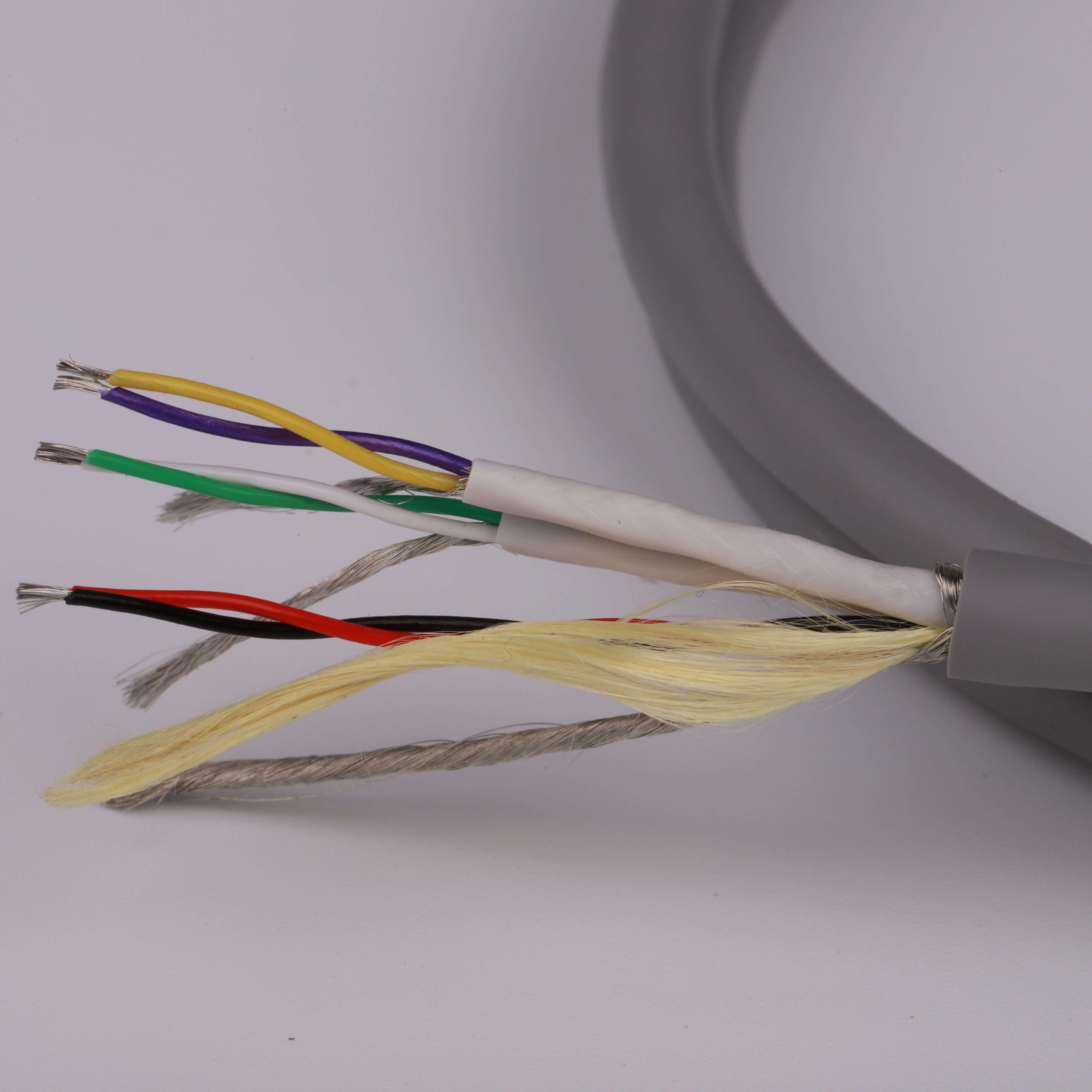 6 core spo2 cable SP206B-004