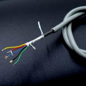 3 core medical silicone wire
