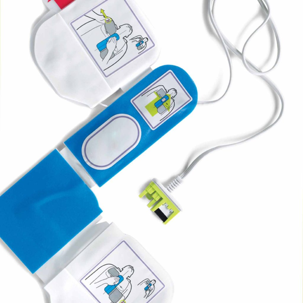 AED wire for Defibrillator Pads Gel Electrodes