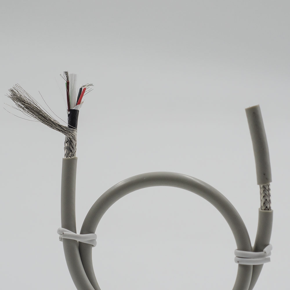 Braided 5 Lead ECG cable-EC105B