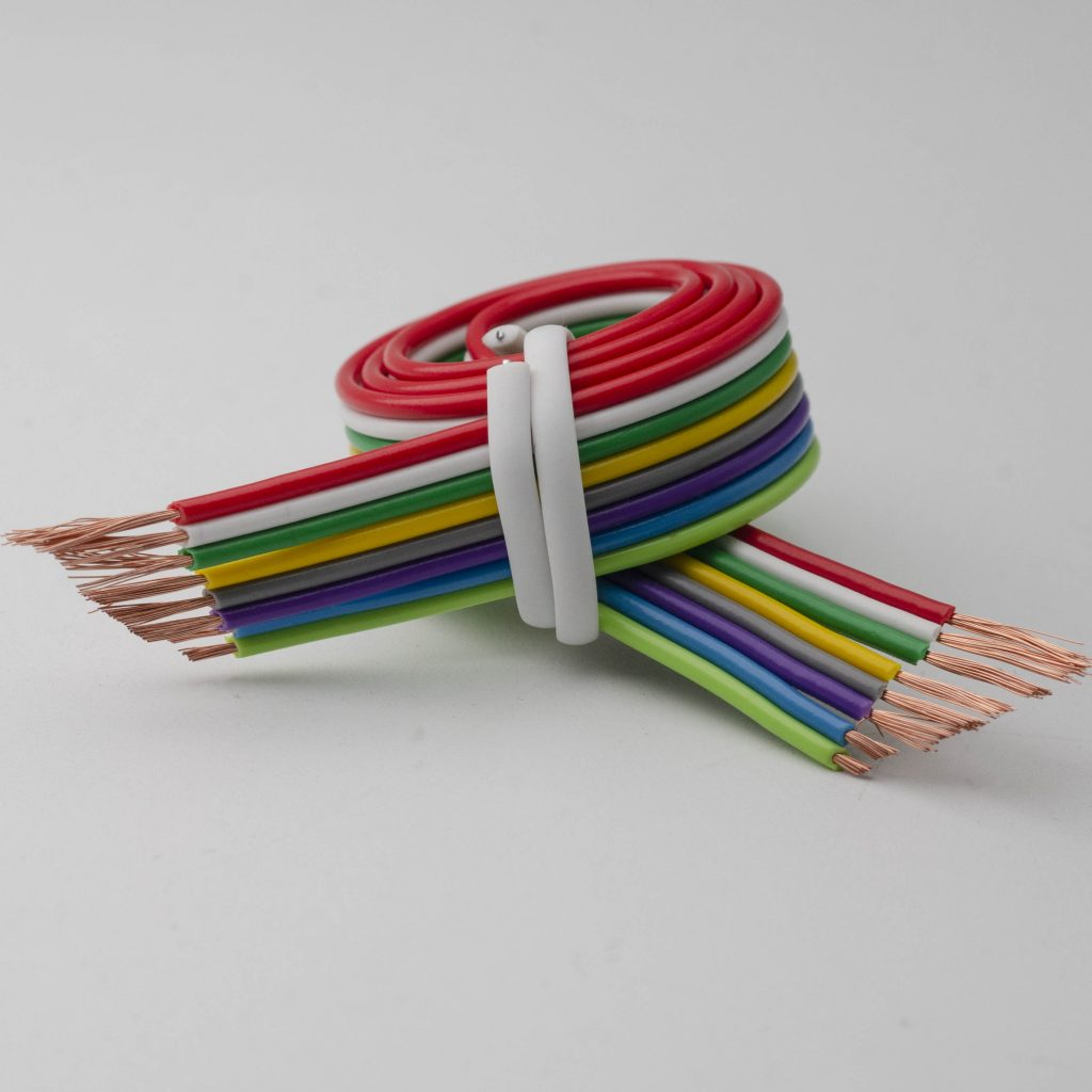 8 Flat Ribbon cable