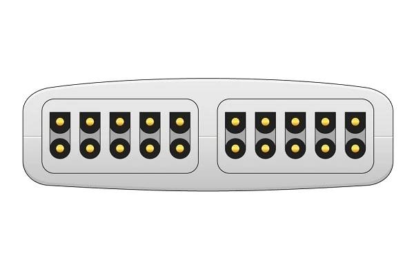 Nihon Kohden ECG adapter