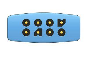 Nihon Kohden ECG trunk Cable Adapter 12 pin