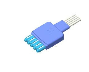 Philips Dispossable ECG leadwire connector