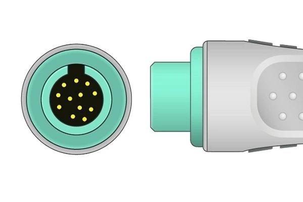 Kontron 12 Pin ECG Connector
