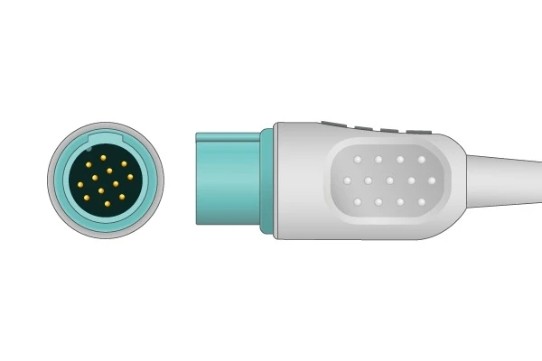 Schiller 12 pin ECG connector