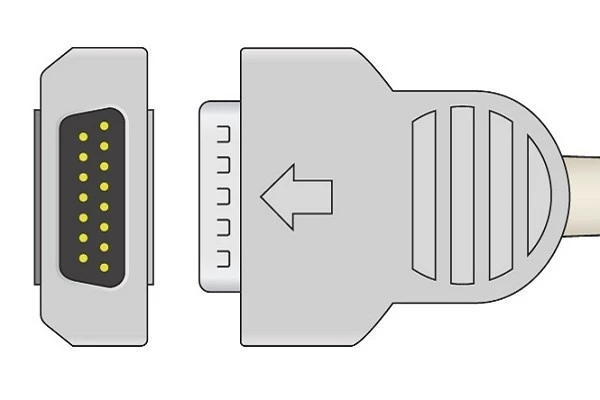 Marquette 10 K Resistance ECG Plug