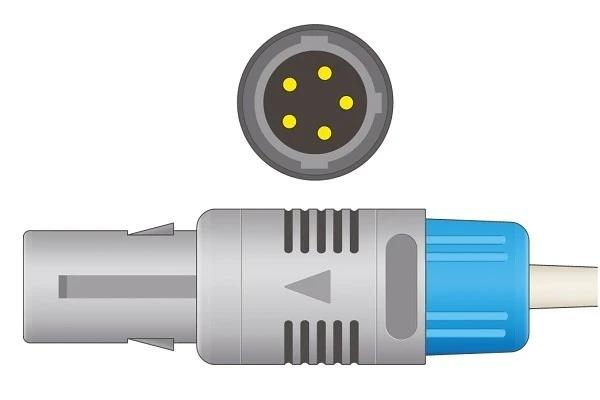 Biolight- 5 Pins SPo2 Sensor Single notch