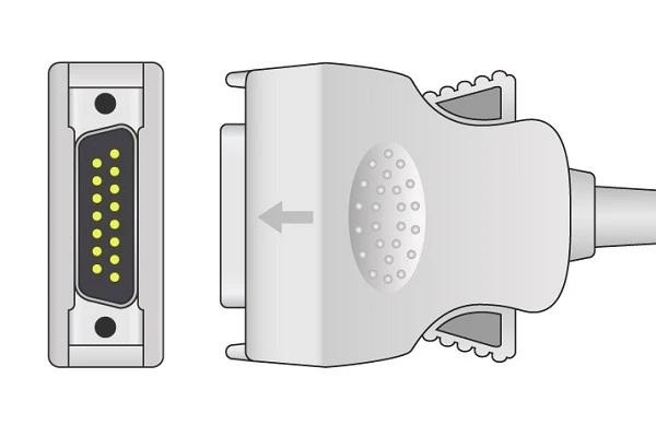 Mortara Burdick 1K Resistance ECG plug