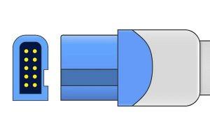 Spacelabs 10 Pins SPo2 Sensor connector