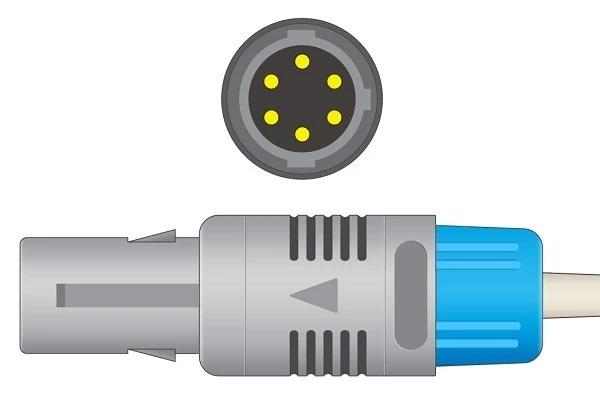 Creative Spurt Biolight 6 pin ECG Connector