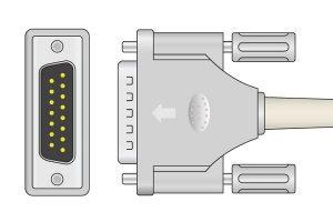 Philips 20 K Resistance ECG Plug