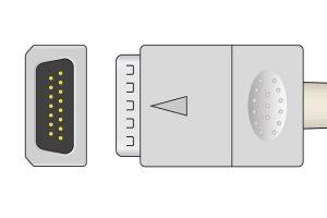 Nihon Kohden Zhonglian JianYi No Resistance ECG plug