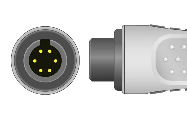 AAMI 6 Pin ECG Connector