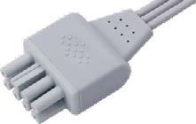 Nihon Kohden ecg leadwire connector