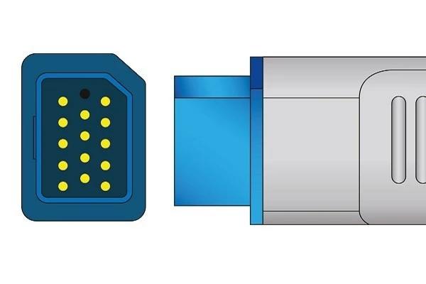 Nihon Kohden 14 Pins SPo2 Sensor