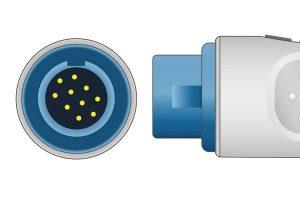 Nihon Kohden 10 Pins SPo2 Sensor connector