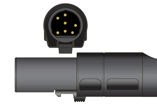 Ohmeda- 7 Pins SPo2 Sensor connector
