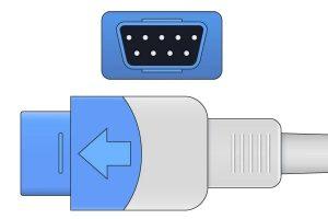 GE Ohmeda- 9 Pins SPo2 Sensor connector