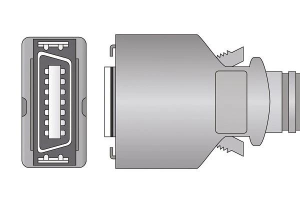 Dolphin- 14 Pins SPo2 Sensor connector