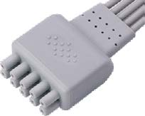 GE Marquette ECG leadwire connector