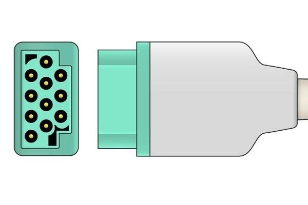 GE medical ECG plug