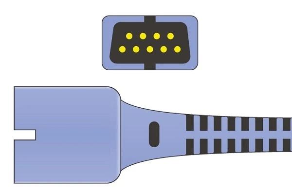 Nellcor Oxi-Max 9 Pins SPo2 Sensor connector
