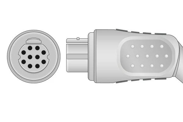 Datex- 10 Pins SPo2 Sensor connector