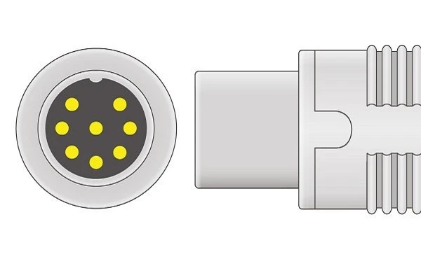 Datascope- 8 Pins SPo2 Sensor connector