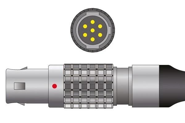 Invivo- 7 Pins SPo2 Sensor connector