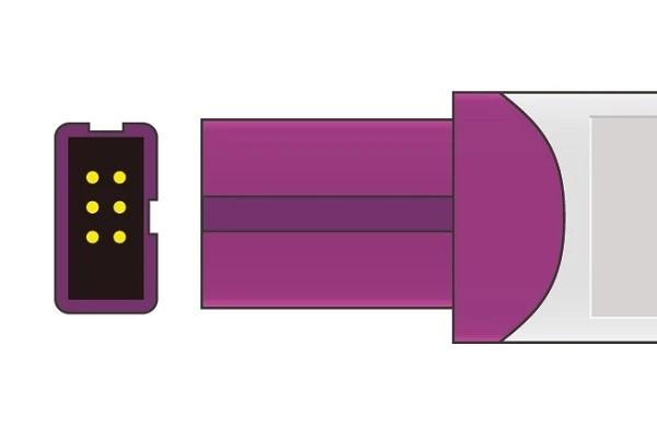 Lohmeier- 6 Pins SPo2 Sensor connector