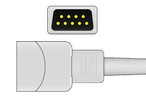 BCI 9 Pins SPo2 Sensor connector