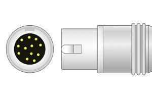 PHILIPS 8 pin ECG connector
