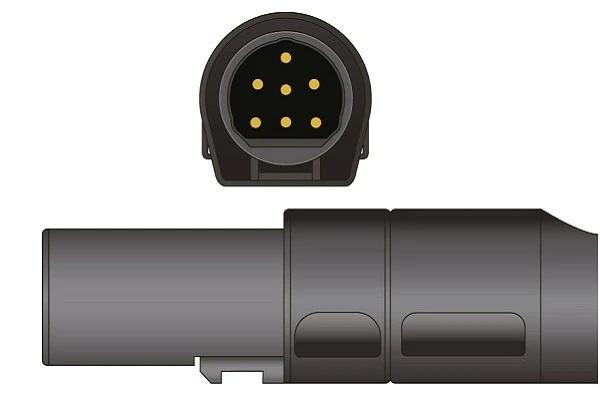 Novametrix- 7 Pins SPo2 Sensor connector
