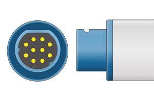Siemens 10 Pins SPo2 Sensor connector