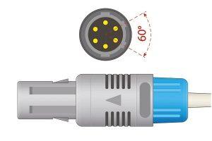 Contec- 6 Pins SPo2 Sensor 40 degree