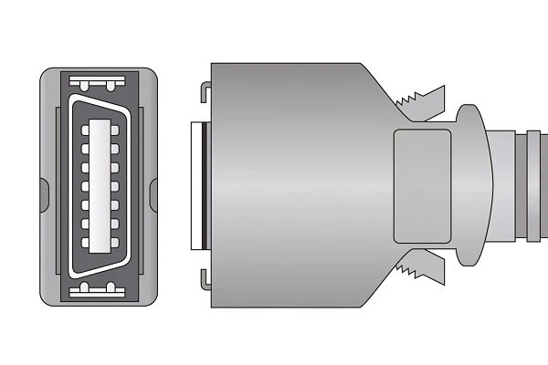 Colin and Omron 14 Pins SPo2 Sensor connector