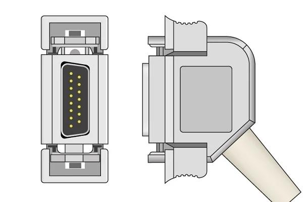 Bosch Cambridge Customed DEGO Hellige Siemens compatible ECG Plug