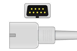 MEK DB9 ECG connector