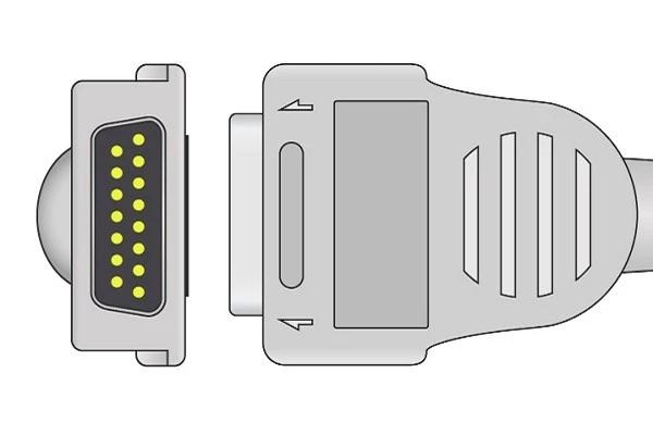Burdick Quinton ATRIA compatible ECG plug