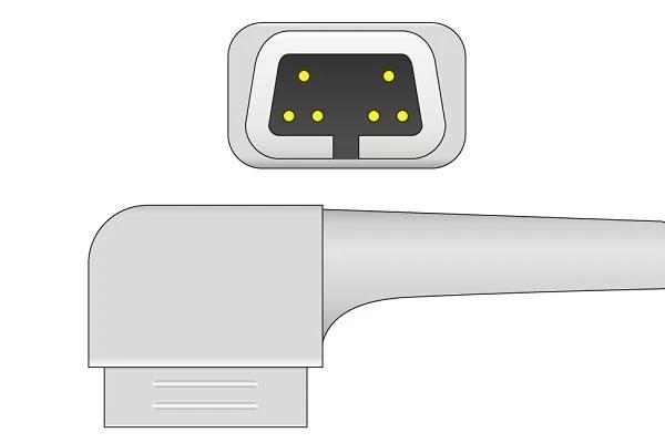 CSI 6 Pins SPo2 Sensor connector