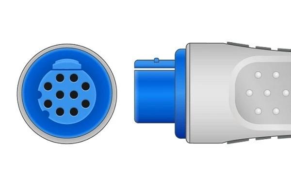 Ohmeda 10 pin ECG trunk cable-Plug