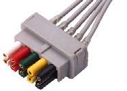 Datex ECG leadwire connector