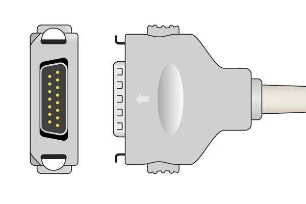 Fukuda Denshi 1K Resistance ECG plug
