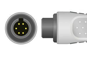 M&B 6 pin ECG Connector